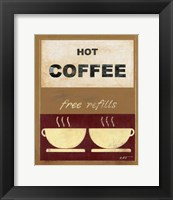 Framed Hot Coffee II