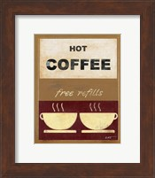Framed Hot Coffee II