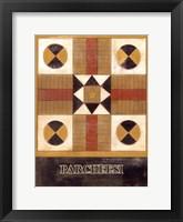 Framed Parcheesi