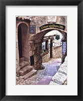 Framed Cobbled Walkway I