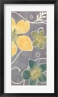 Tropical Whimsy II Framed Print
