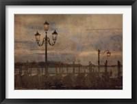 Framed Dawn & the Gondolas I