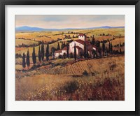 Framed Tuscany III