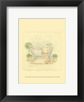 Framed Country Bath I
