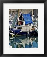 Antibies Harbor II Framed Print