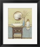 Framed Seabreeze Bath I