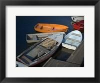 Framed Row Boats II