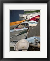 Framed Row Boats III