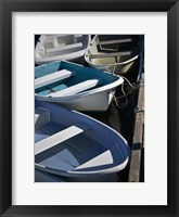 Row Boats IV Framed Print