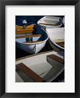 Framed Row Boats V