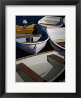 Row Boats V Framed Print