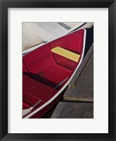 Row Boats VI Framed Print