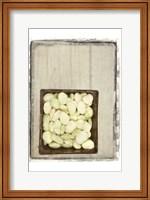 Framed Basket of Beans