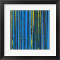 Framed Royal Stripes I