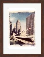 Framed Chicago Vintage I