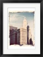 Framed Chicago Vintage II