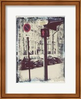 Framed Paris Stroll I