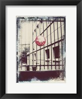 Framed Paris Stroll II