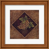Framed Golden Grapes