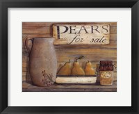 Framed Pears for Sale