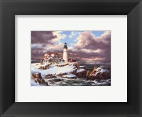 Framed Portland Head Lighthouse