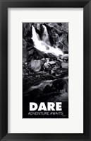 Dare Framed Print