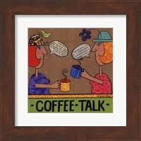 Framed Coffee Talk