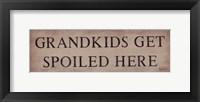 Framed Grankids Get Spoiled Here