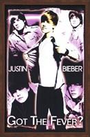 Framed Black Light - Justin Bieber