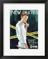 Framed Dexter New York Times Spoof