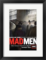Framed Mad Men - man in crowd