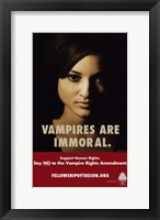 Framed True Blood Vampire are Immoral.