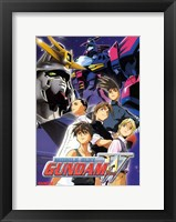 Framed New Mobile Report Gundam Wing