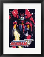 Framed New Mobile Report Gundam Wing 3