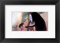 Framed Spirited Away - little girl