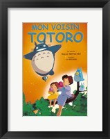 Framed My Neighbor Totoro (French Title)