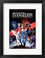 Framed Neon Genesis Evangelion: Death & Rebirth