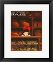 Framed Kiki's Delivery Service (French Title)