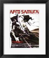Framed Afro Samurai (Japanese Promo)