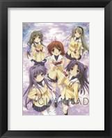 Framed Clannad Kyou Nagisa Fuko Kotomi Tomoya