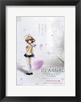 Framed Clannad Nagisa Furukawa