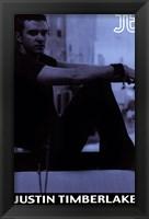 Framed Justin Timberlake