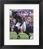 Framed Terrell Suggs 2010 Action
