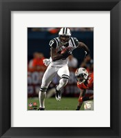 Framed Braylon Edwards 2010 Action