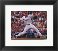 Framed Roy Halladay throws second no-hitter in MLB postseason