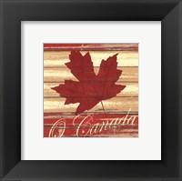 O Canada Framed Print