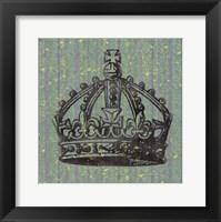 Vintage Crown II Framed Print