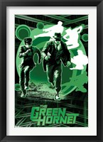 Framed Green Hornet - Sting