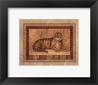 Tiger - mini Framed Print