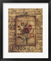 Framed Bel Bouquet I